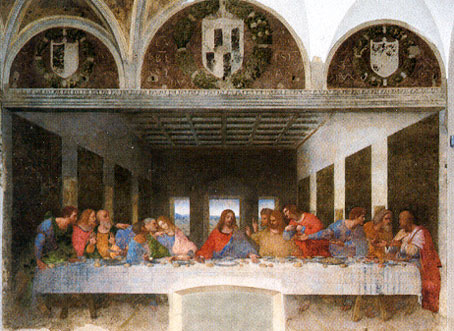 Leonardo Da Vinci The Last Supper
