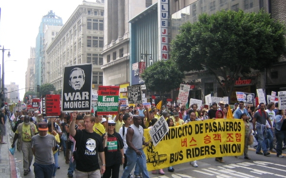 War Protest, Los Angeles, September 24, 2005